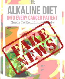 alkaline diet is a fad